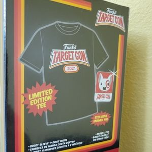 Funko Target 2021 Tee and Pin XL NEW Limited